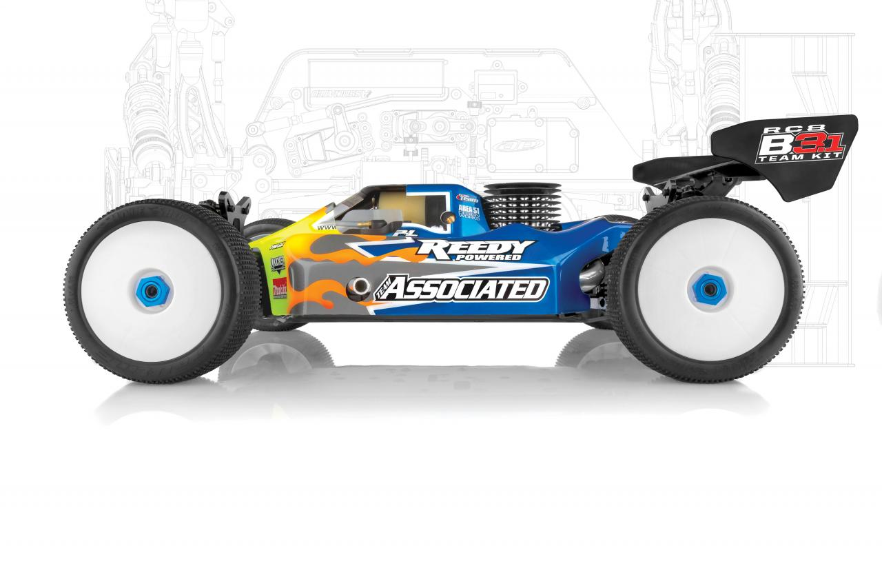 Team Associated RC8B3.1/.2 Option Parts