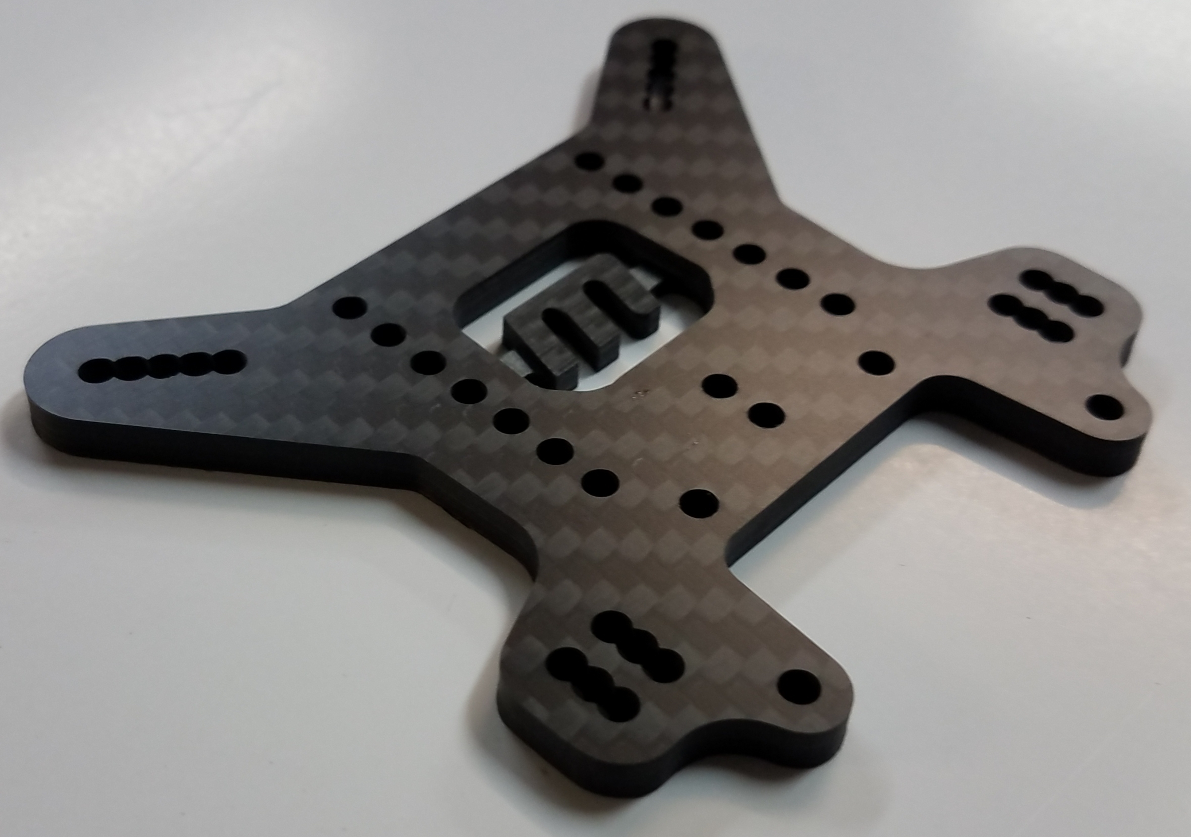 VRP 4mm Carbon Rear Tower- MBX8 (Updated)