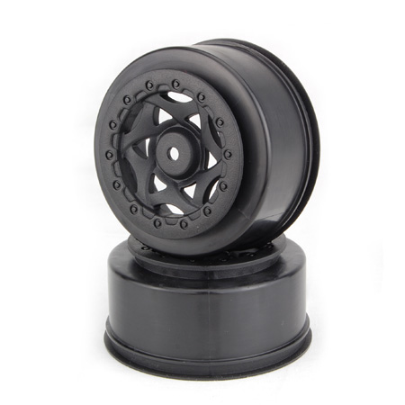 1:10 CYCLONE SC WHEEL LOSI TEKNO SCTE 4X4 BLACK