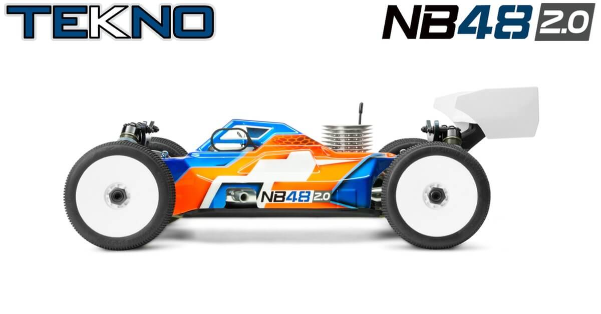 TKR9300 – NB48 2.0 1/8th 4WD Competition Nitro Buggy Kit