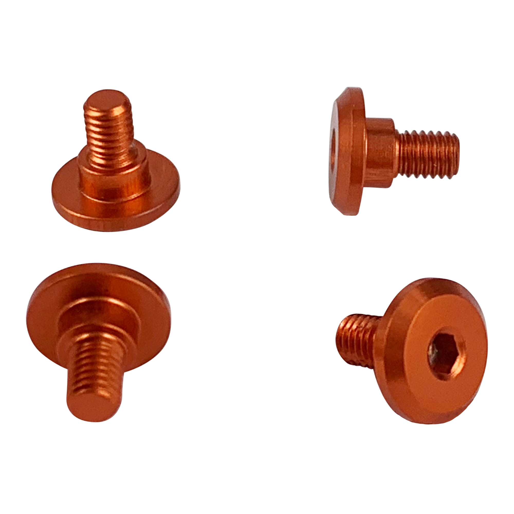 1UP Orange – 4mm Thread Servo Screws