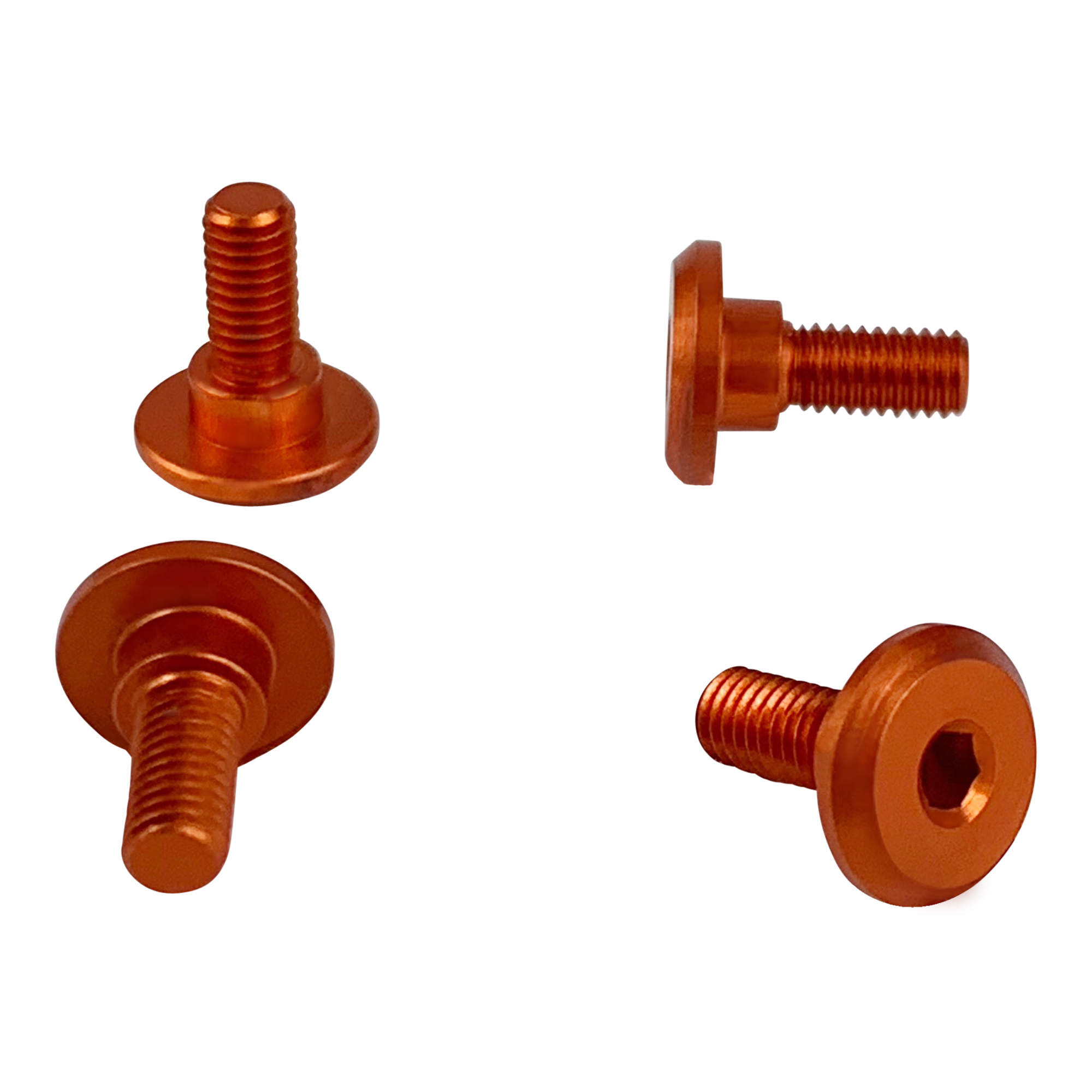 1UP Orange – 6mm Thread Servo Screws