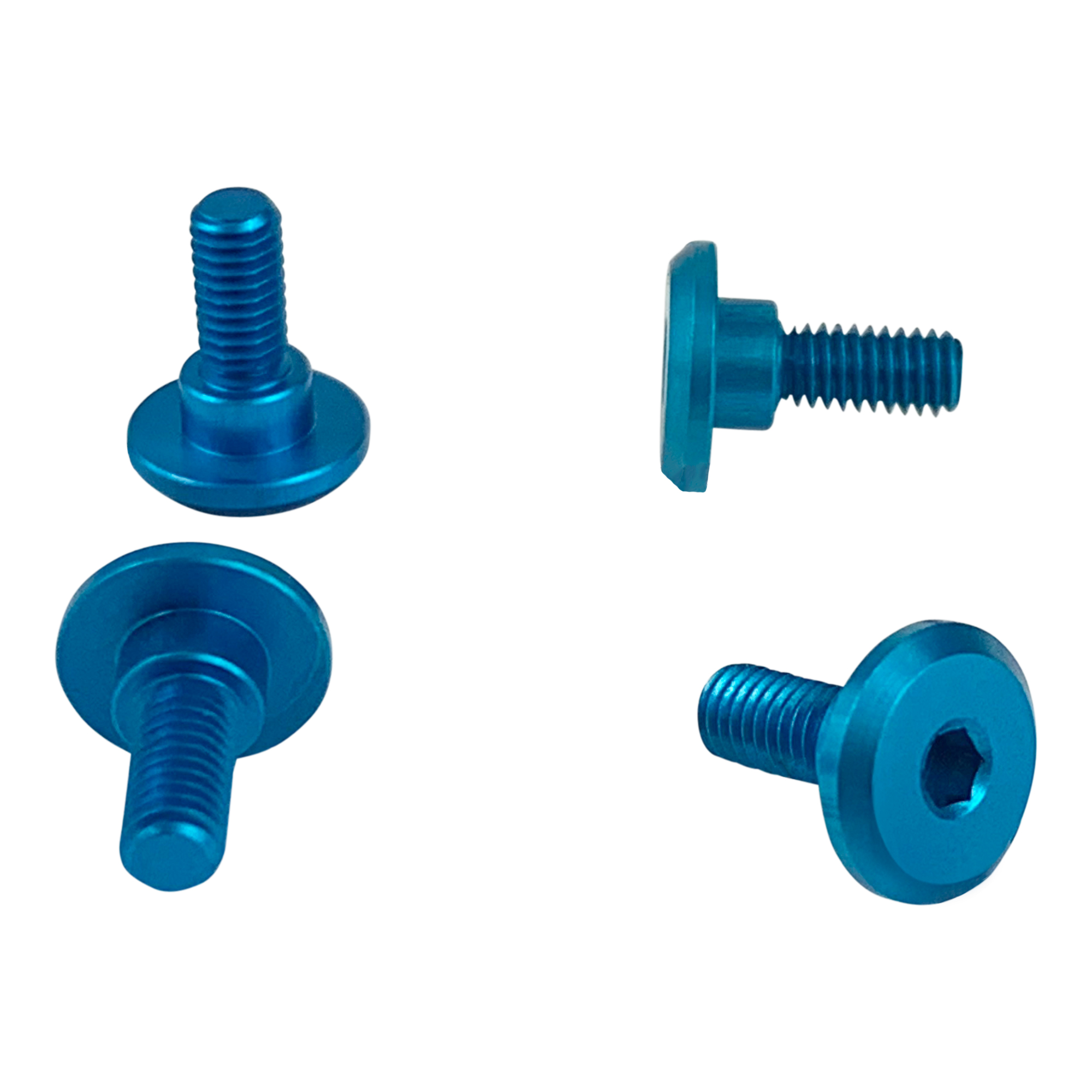 1UP Bright Blue – 6mm Thread Servo Screws