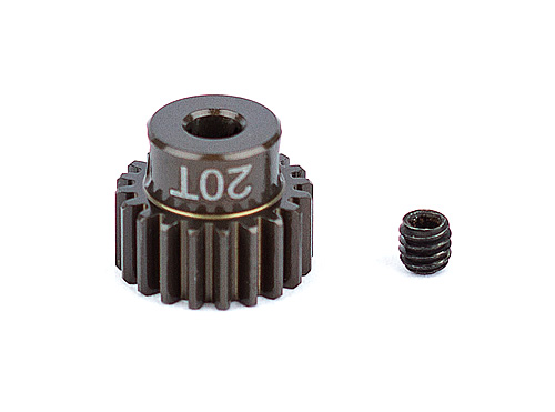 ASC1338 FT Aluminum Pinion Gear, 20T 48P, 1/8 shaft