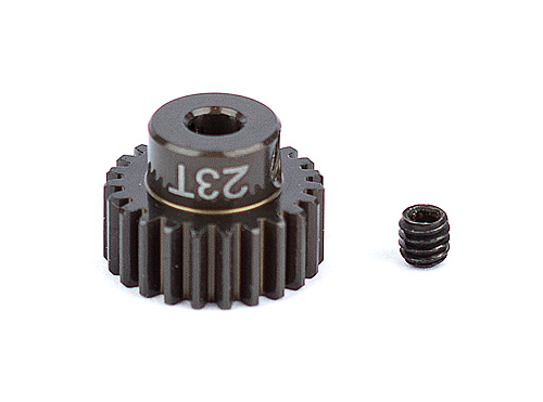 ASC1341 FT Aluminum Pinion Gear, 23T 48P, 1/8 shaft