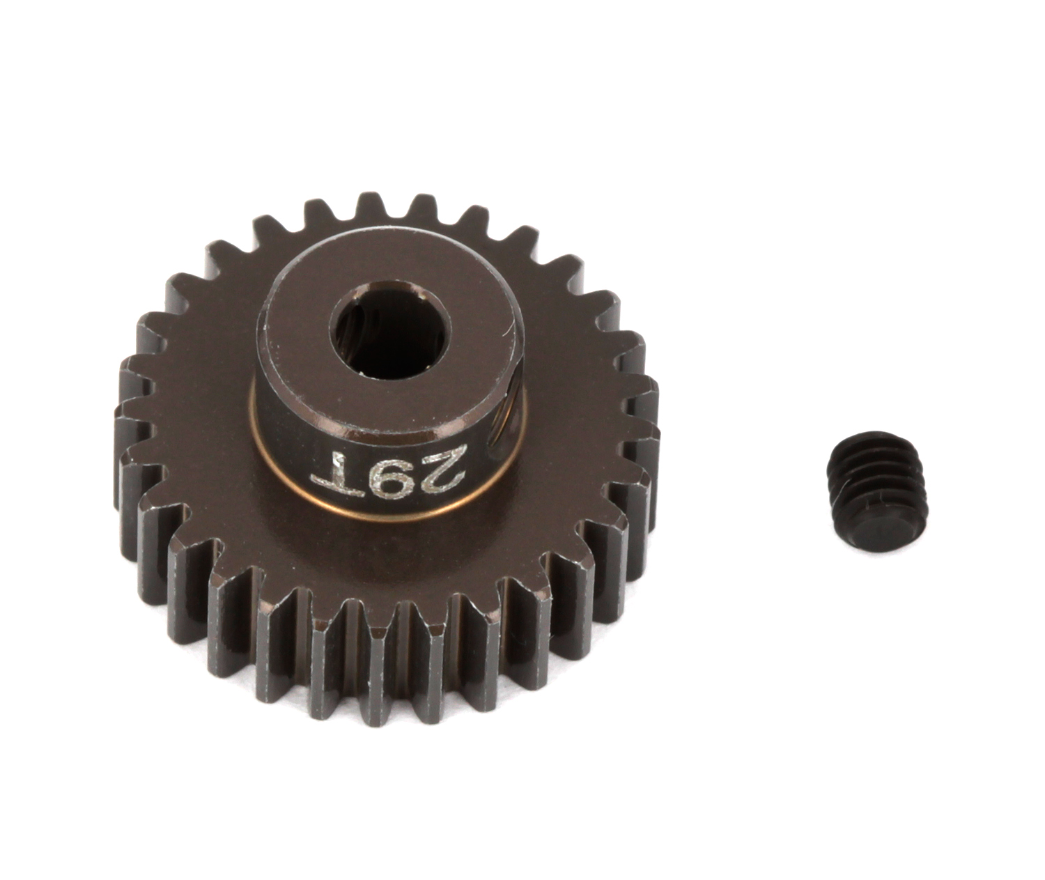 ASC1347 FT Aluminum Pinion Gear, 29T 48P, 1/8 shaft