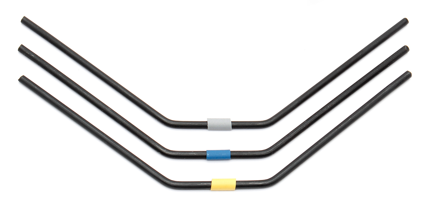 ASC81131 RC8B3 FT Front Anti-roll Bars, 2.6-2.8mm