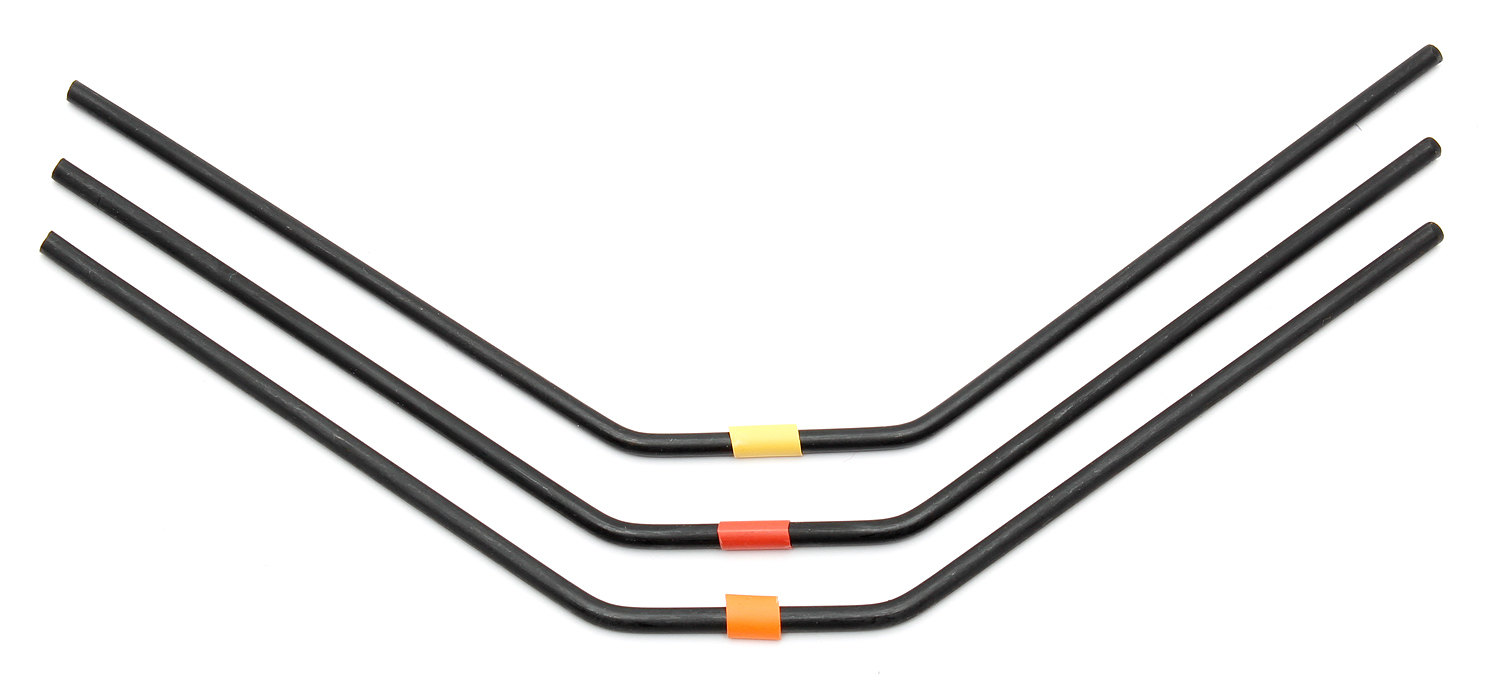 ASC81141 RC8B3 FT Rear Anti-roll Bars, 2.8-3.0mm