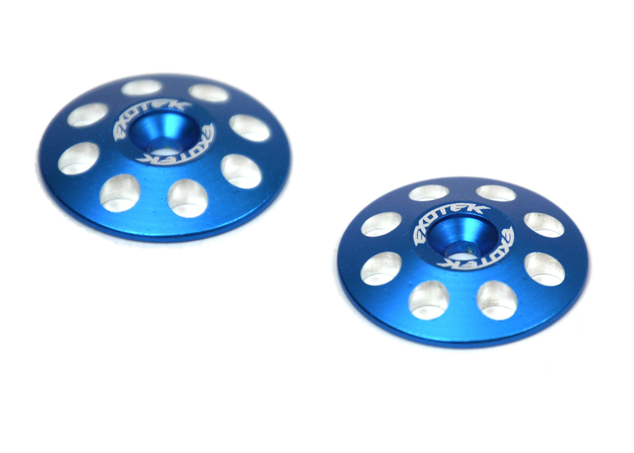 1665 1/8 XL WING BUTTONS, 22mm (2) Blue