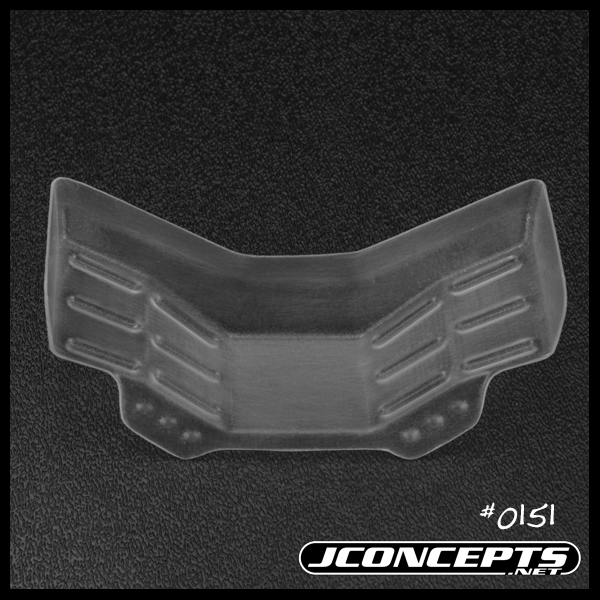 Finnisher RC10B5M Front Wing - Wide
