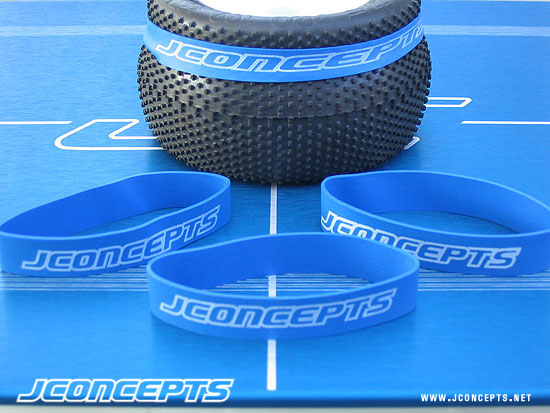 JCONCEPTS TIRE RUBBER BANDS (8PC)