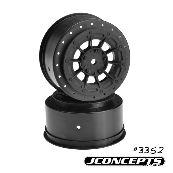 Hazard - Losi SCT-E wheel Black