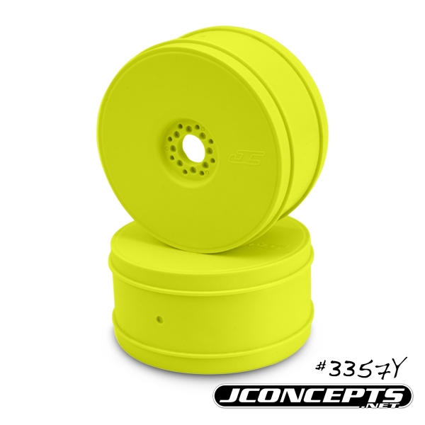 Bullet - 1/8th buggy wheel - 83mm - 4pc Yellow