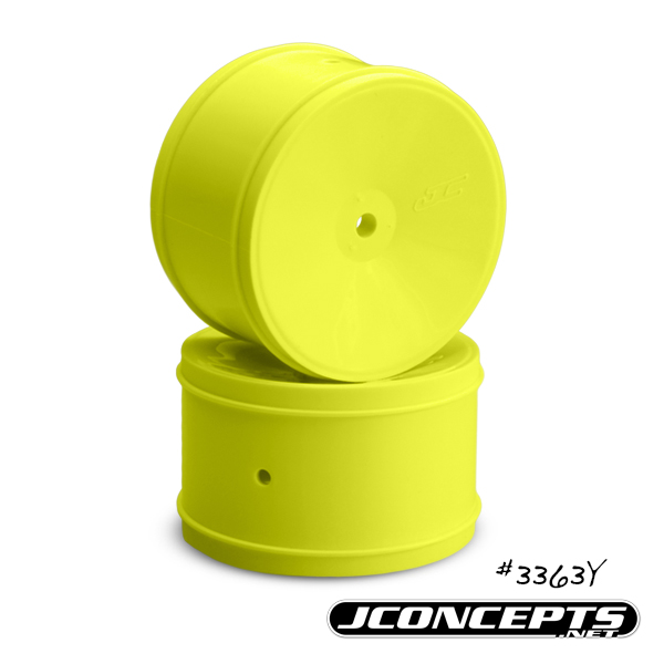 Bullet - 60mm RC10B5 | RB6 rear wheel Yellow