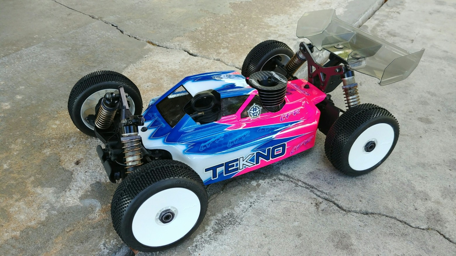 Leadfinger LFR A2 Tactic body (clear) for Tekno NB48.4