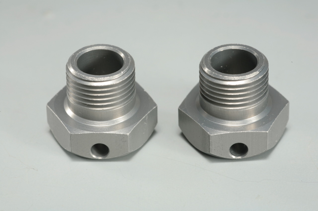 E0241 Wide Offset Wheel Hubs 2mm 2pcs: X8/E, X7R/E