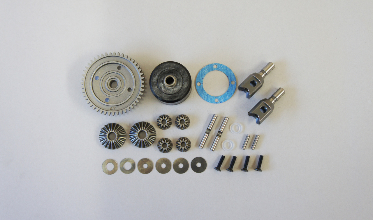 E2251 H.T. Center Differential Set 47T: X8, X7R, X7TR