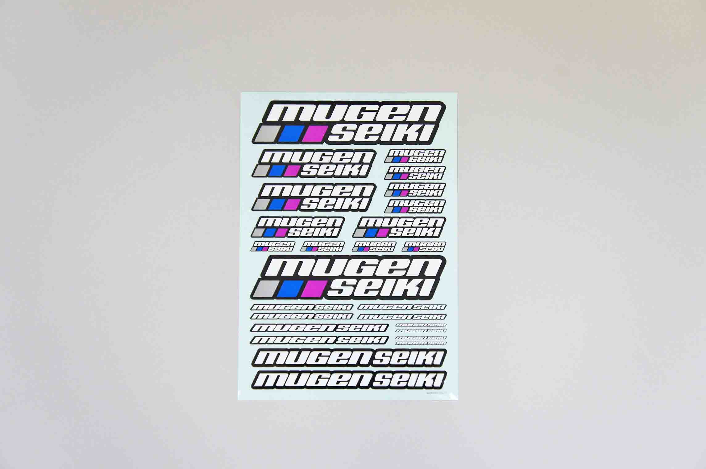 P0402 Mugen Seiki Decal Sheet Large