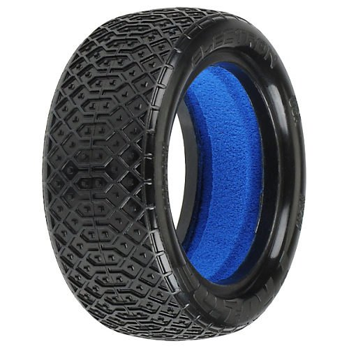 "Electron 2.2"" 4WD M4 (Super Soft) Off-Road Buggy Front Tires"