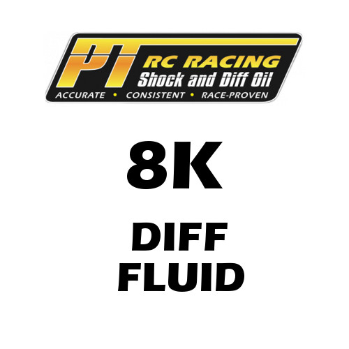 PT Racing RC Diff Oil 8K