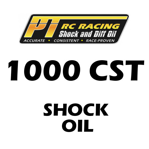 PT Racing RC Shock Oil 4 OZ Bottle 1000 CST