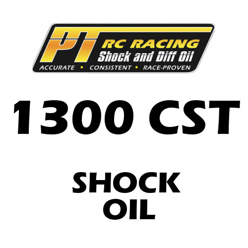 PT Racing RC Shock Oil 4 OZ Bottle 1300 CST
