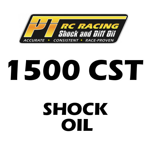 PT Racing RC Shock Oil 4 OZ Bottle 1500 CST