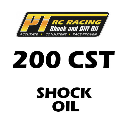 PT Racing RC Shock Oil 4 OZ Bottle 200 CST