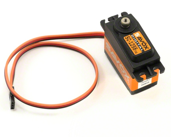 1258TG STANDARD SIZE CORELESS DIGITAL SERVO .08/166