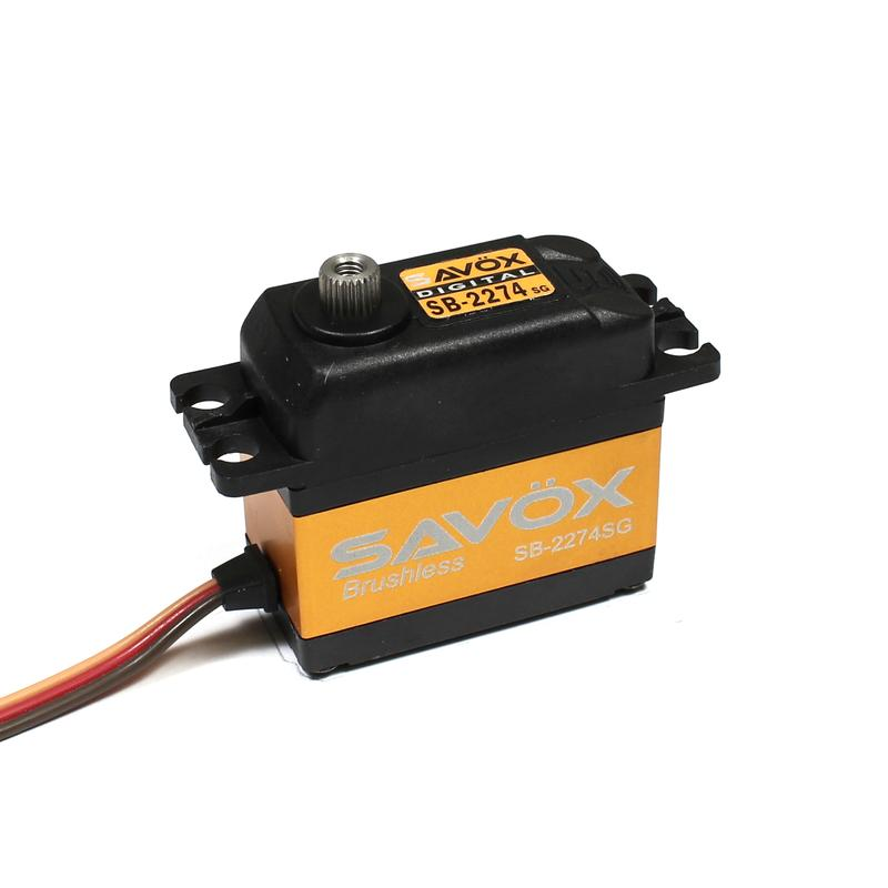SAVSB2274SG HIGH VOLTAGE BRUSHLESS DIGITAL SERVO 0.08/347.2 @7.4