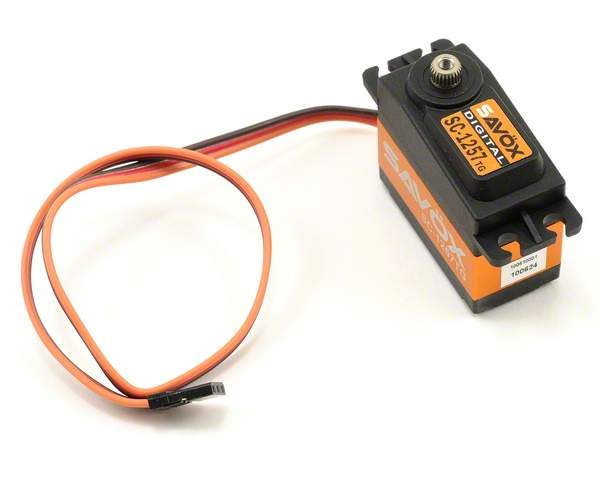 SAVSC1257TG STANDARD SIZE CORELESS DIGITAL SERVO .07/139