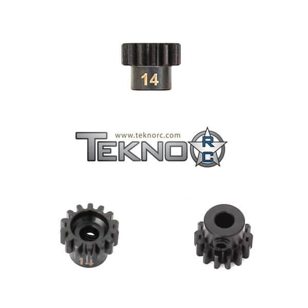 TKR4174 - M5 Pinion Gear (14t, MOD1, 5mm bore, M5 set screw)