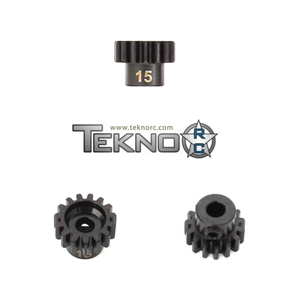 TKR4175 - M5 Pinion Gear (15t, MOD1, 5mm bore, M5 set screw)