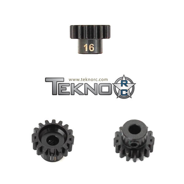 TKR4176 - M5 Pinion Gear (16t, MOD1, 5mm bore, M5 set screw)