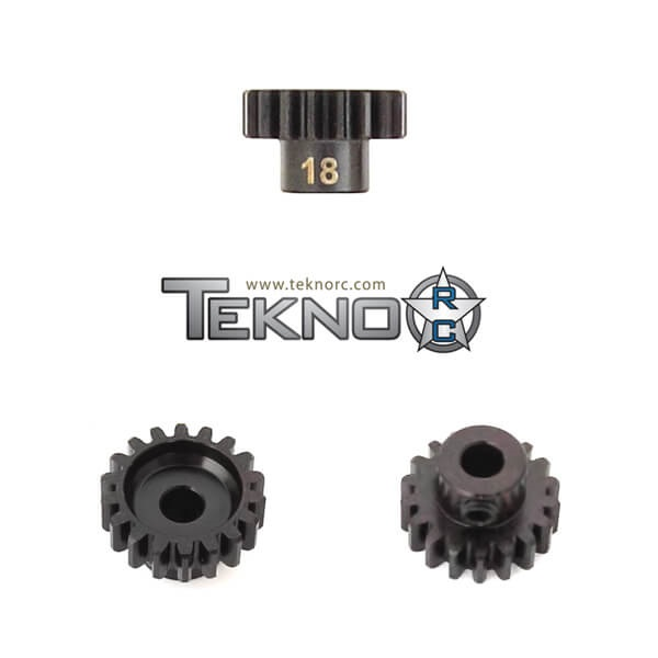 TKR4178 - M5 Pinion Gear (18t, MOD1, 5mm bore, M5 set screw)