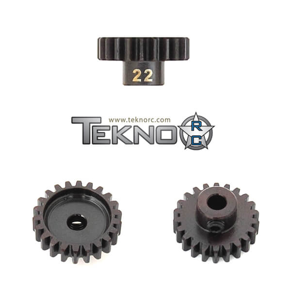TKR4182 – M5 Pinion Gear (22t, MOD1, 5mm bore, M5 set screw)