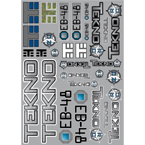 TKR5247 - Decal/Sticker Sheet (EB48)