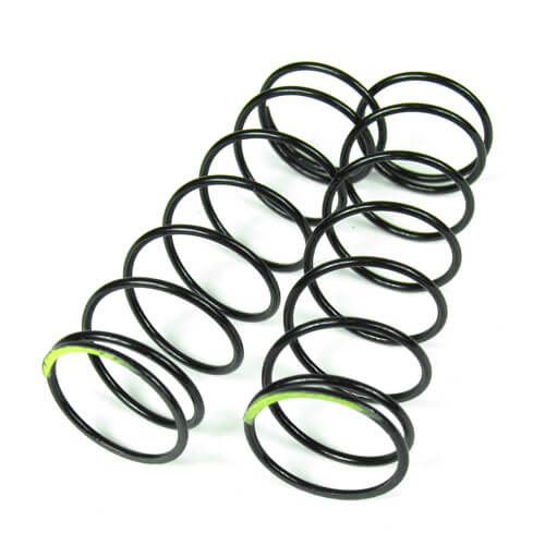 TKR6037 – Shock Spring Set (front, 1.5×8.0T, 70mm, yellow)