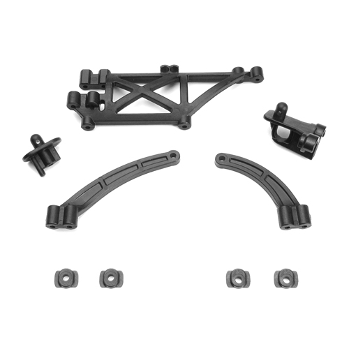 TKR6538 - Chassis Brace, Body Mount Set (EB410)