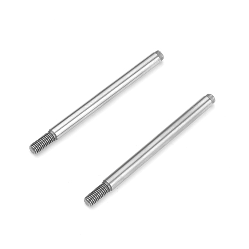 TKR6704 - Shock Shafts (rear, steel, EB410, 2pcs)
