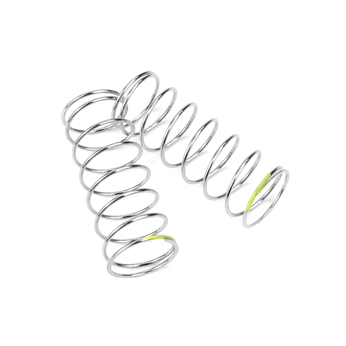 TKR6795 - Shock Spring Set (rear, 1.2x8.25, 2.6lb/in, 53mm, yellow)