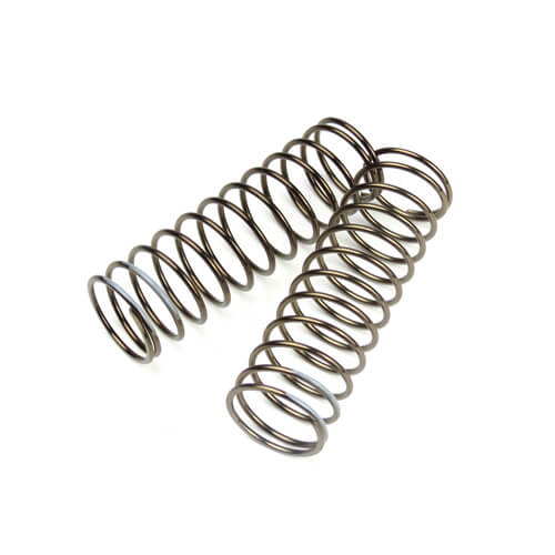 TKR8762 - Shock Spring Set(front, 1.6×12.3, 3.34lb/in, 75mm,Gry