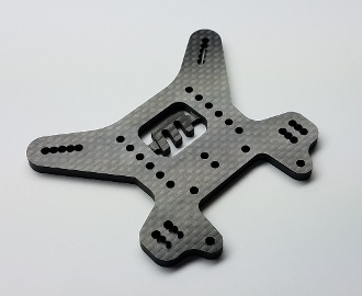 VRP 4mm Carbon Rear Tower- MBX8