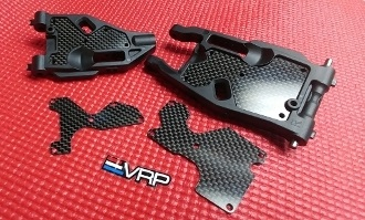 VRP 1mm Carbon Rear Arm Inserts (2)