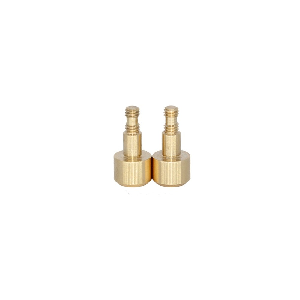 RC Project Kingpin Shoulder Screws in Brass for TEKNO RC NB48.4-EB48.4