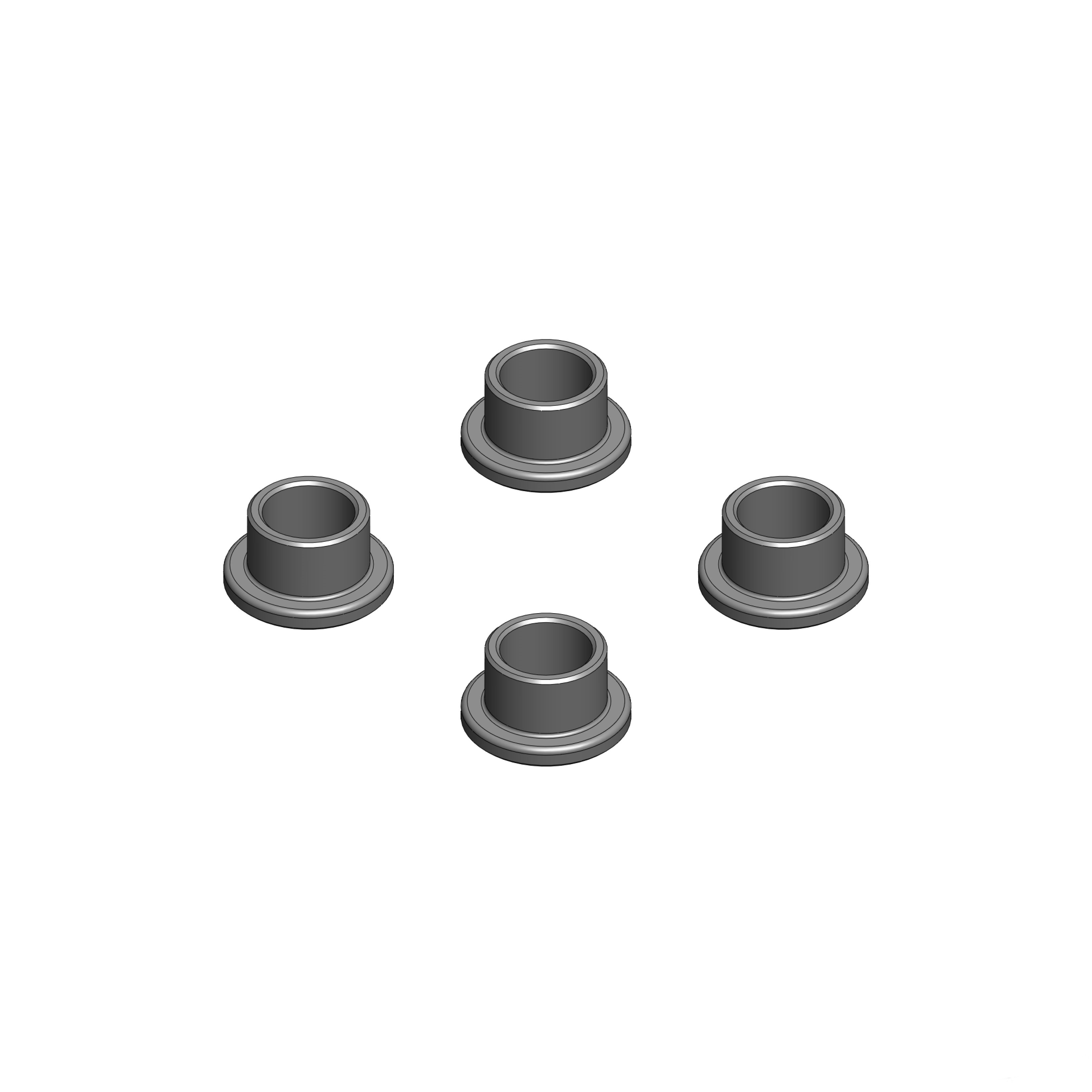 MIP19012 Bypass1 Stop Washers, for Tekno 1/8th (4pcs)