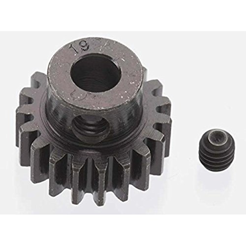 RRP8619   EXTRA HARD 19 TOOTH BLACKENED STEEL 32P PINION 5M/M