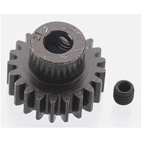 RRP8621   EXTRA HARD 21 TOOTH BLACKENED STEEL 32P PINION 5M/M