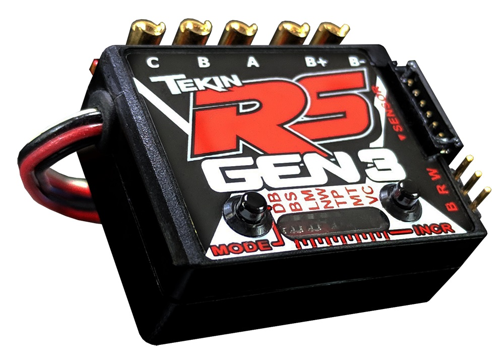 Tekin RS GEN3 Sensored/ Sensorless Brushless ESC