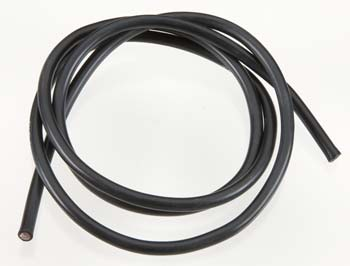 TQW1131   10 Gauge Super Flexible Wire- Black 3'